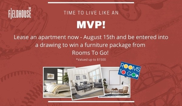 Now Leasing!  1 Month Free on Select Homes! Ask how to win a Rooms to Go Raffle!